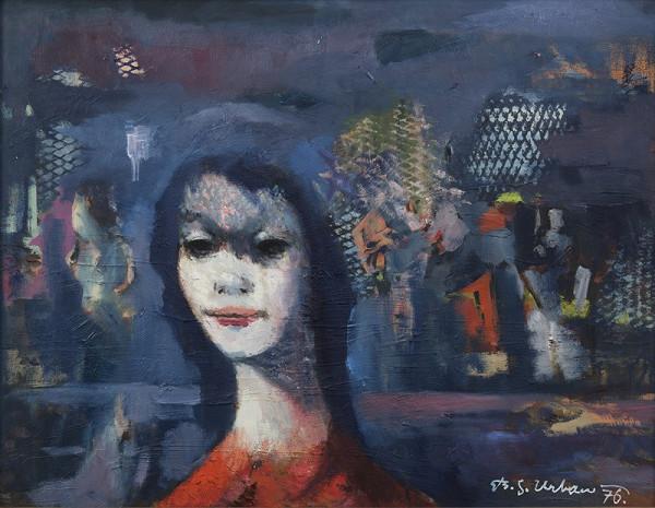 Stanislav Bohumil Urban – Modrý obraz
