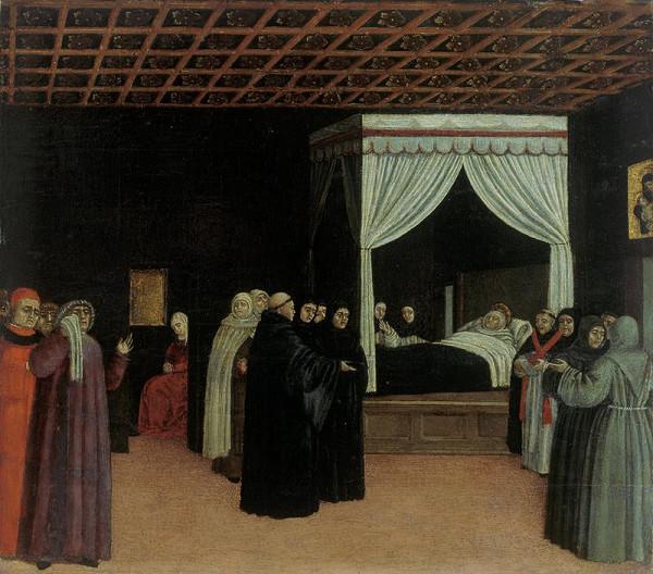 Bartolomeo degli Erri – Smrt sv. Tomáše Akvinského