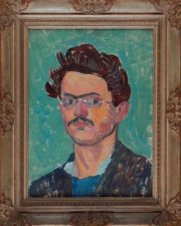 Václav Špála - Autoportrét