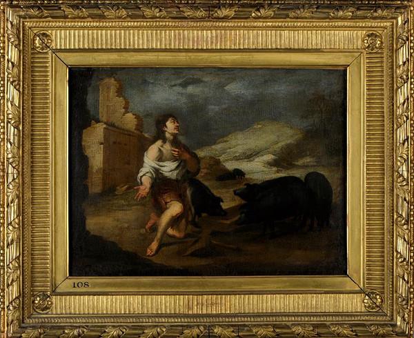 Bartolomé Esteban Murillo – Marnotratný syn jako pasák sviní