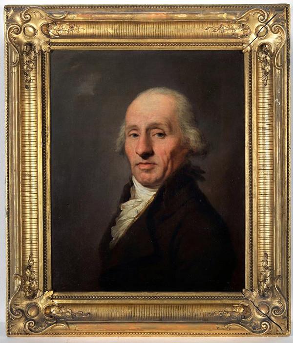 Johann Baptist Lampi ml - Podobizna starého muže