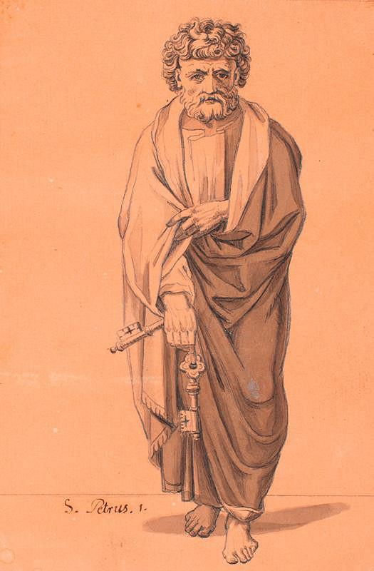 František Tkadlík (Kadlik) – Apoštol sv. Petr