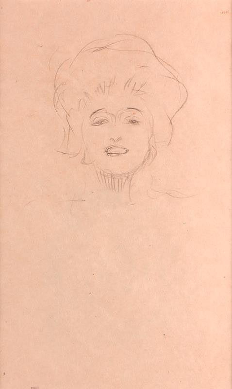 Gustav Klimt – Podobizna dívky (Marie Zimmermann)