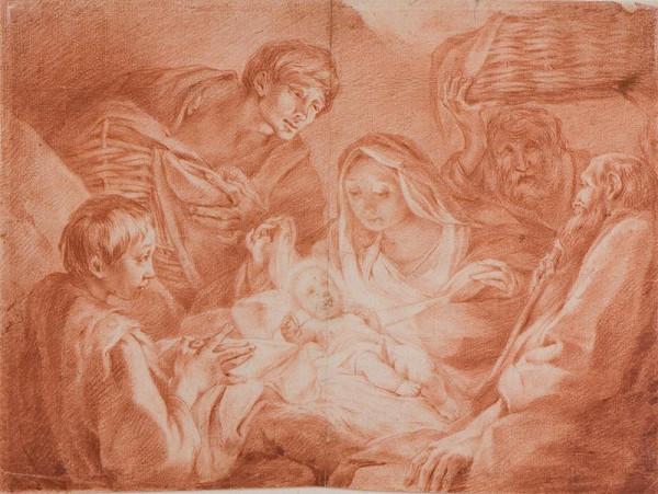 Giovanni Domenico Ferretti zv. d´Imola - Klanění pastýřů