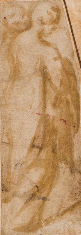 Andrea Meldolla zv. Andrea Schiavone - podle – Ženská figura
