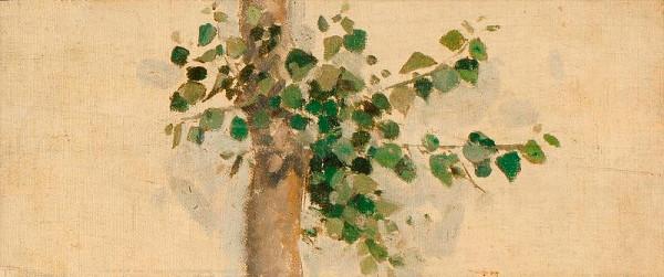 Joža Uprka – Studie stromu k Úvodnicím z Kněžduba