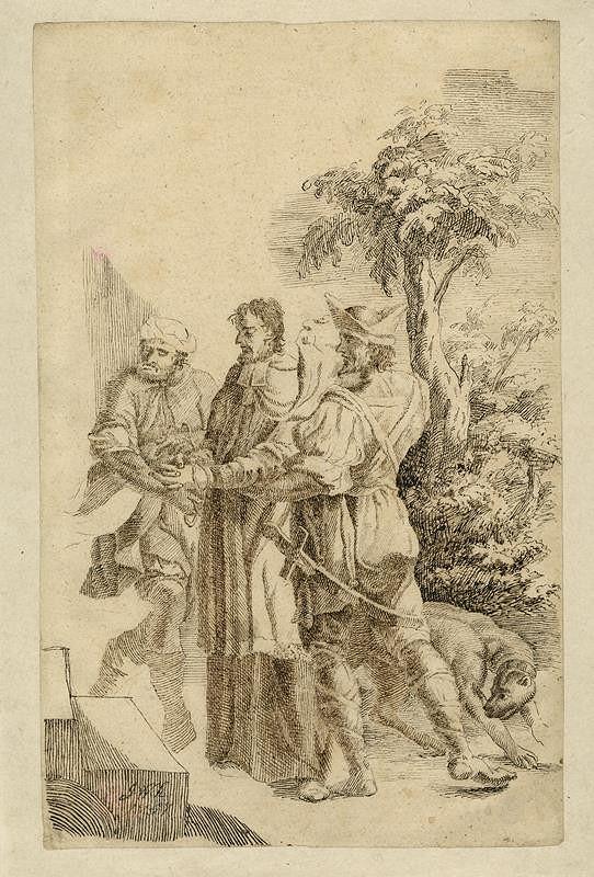 Josef Winterhalder I. (Winterhalter) - Zajetí sv. Jana Nepomuckého