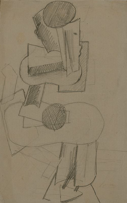 Otto Gutfreund – Sedící