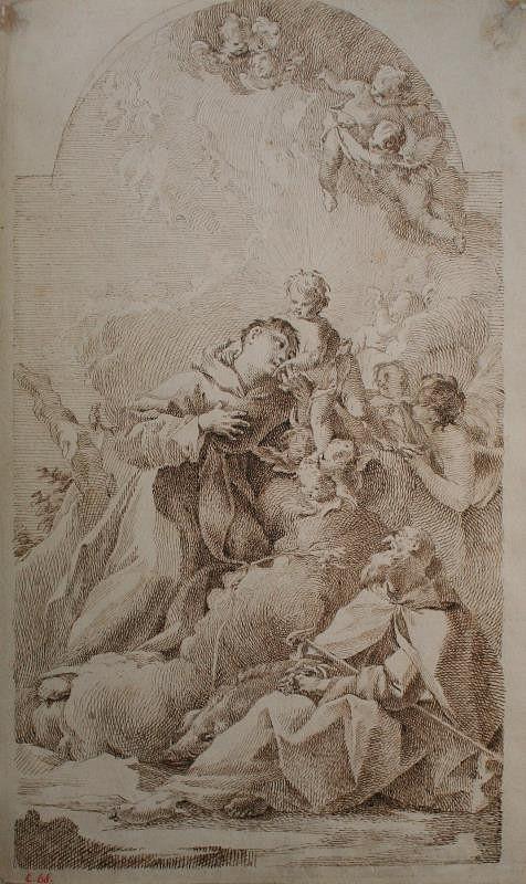 Paul Troger - Sv. Antonín