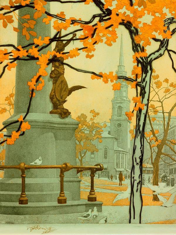 Vojtěch Preissig – Podzimní den