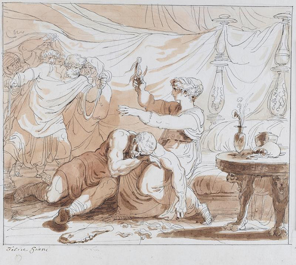 Felice Giani – Samson a Dalila
