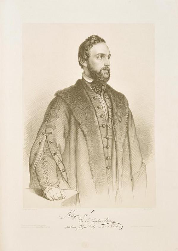 Josef Bekel - Podobizna dr. Frant. Riegra
