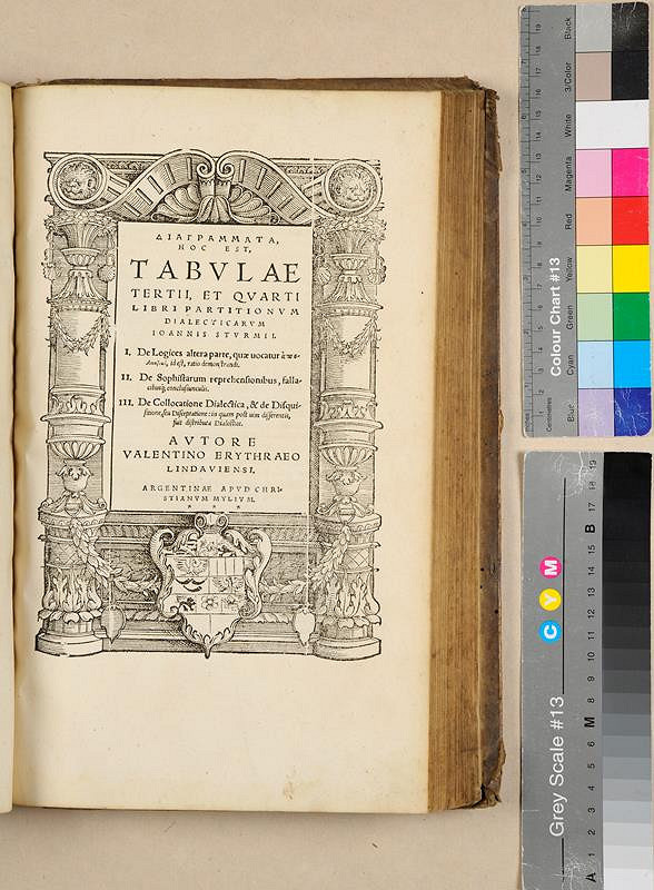 Georg Fabricius, Johann Sturm, Valentin Erythraeus, Johann Oporinus, Christian Mylius - Georgii Fabricii Chemnicensis Partitionum Grammaticarum. Libri tres