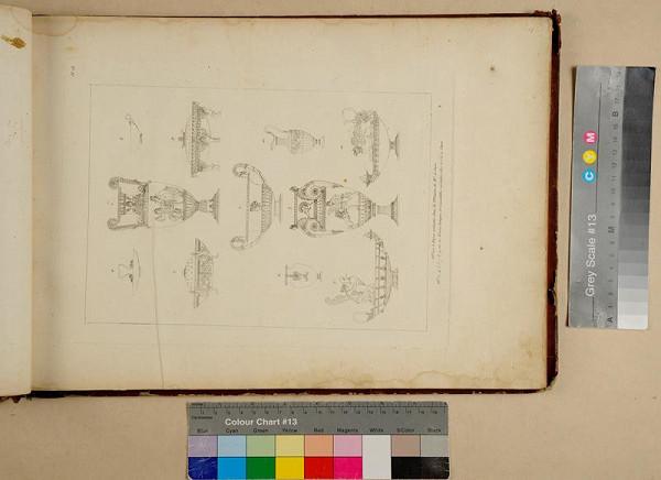Charles Percier, Pierre Fontaine - Recueil de décorations intérieures