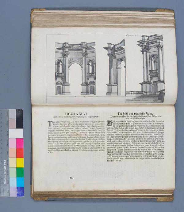 Georg Conrad Bodenehr, Jeremias Wolff, Andrea Pozzo - Perspectivae pictorum atque architectorum. II. pars