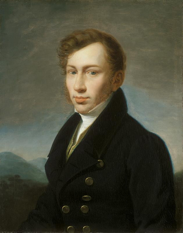 Johann Baptist Lampi st. – Podobizna mladého muže