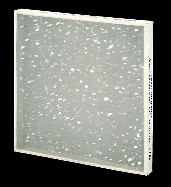 Július Koller – Anti-picture (Snow)