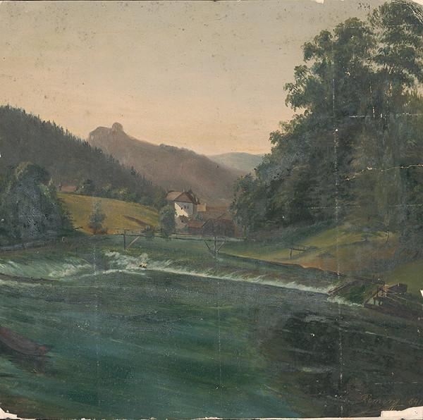 Flóris Ferenc Romer - Horská krajina