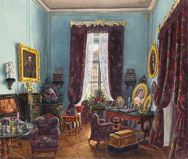Möszmer – Interiér meštianskeho salónu