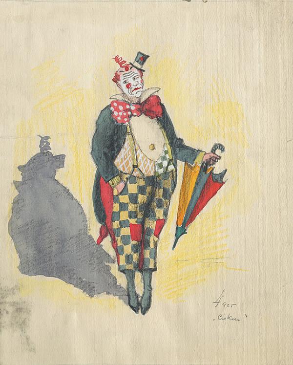 Ján Ladvenica – Clown