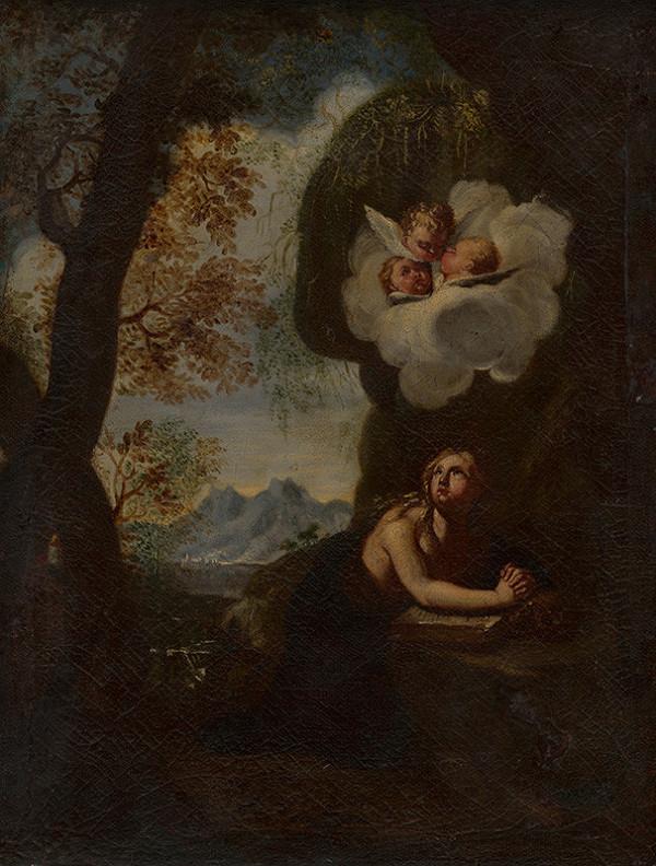 Stredoeurópsky maliar z 2. polovice 18. storočia – Svätá Mária Magdaléna ako kajúcnica