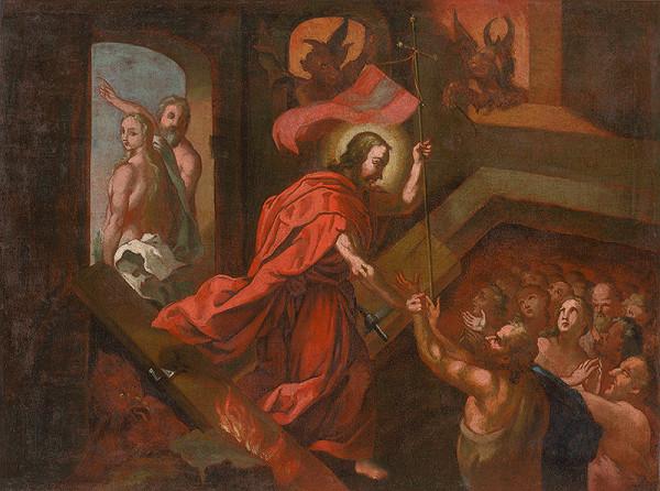 Stredoeurópsky maliar zo začiatku 18. storočia – Kristus v predpeklí