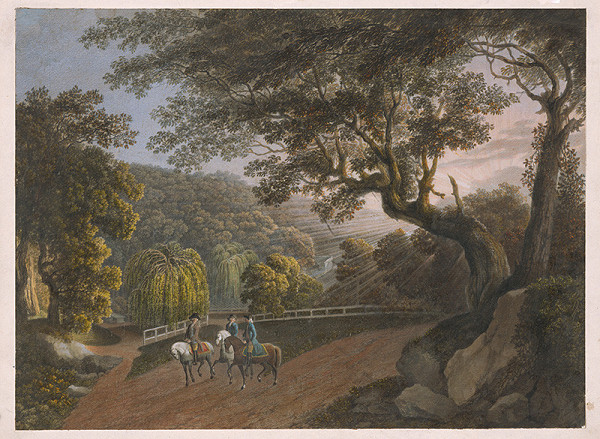 Stredoeurópsky maliar z 1. štvrtiny 19. storočia - V parku
