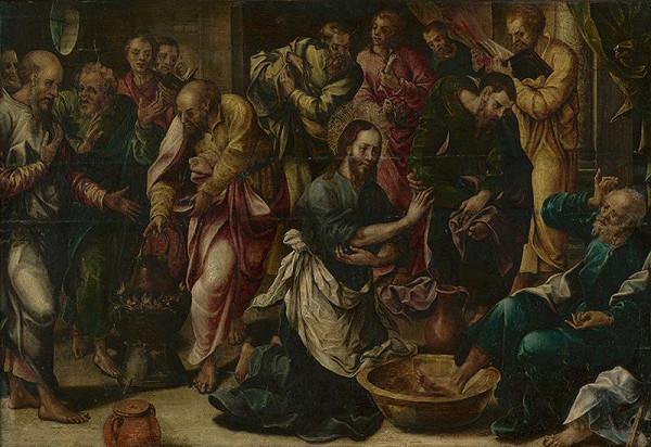 Jacopo de' Barbari – Kristus umýva nohy učeníkom