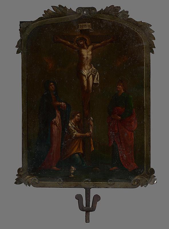 Slovenský maliar z 1. polovice 18. storočia, Bratislavský maliar z 1. polovice 18. storočia - Ukrižovanie Krista