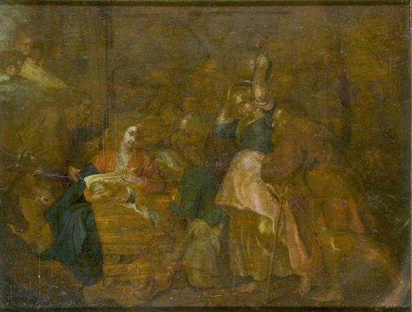 Stredoeurópsky maliar z 18. storočia - Narodenie Krista