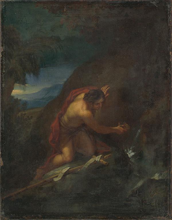 Rakúsky maliar po polovici 18. storočia, Josef Hauzinger – Svätý Ján Krstiteľ na púšti