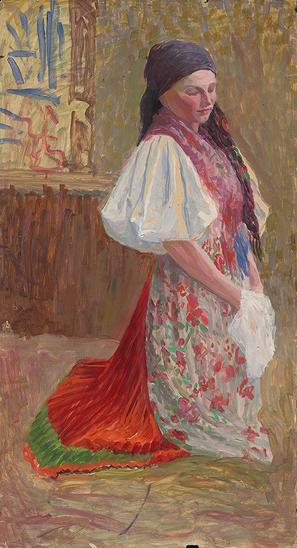 Ivan Žabota – Dievča v českom kroji