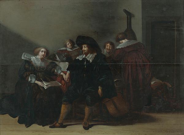 Joos van Kampen, Pieter Jacobs Codde – Hudobná spoločnosť