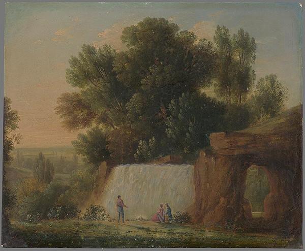 Friedrich Gauermann - Vodopád