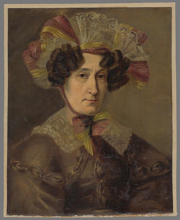 Friedrich von Amerling, Rakúsky maliar z 1. polovice 19. storočia - Portrét ženy v čepci