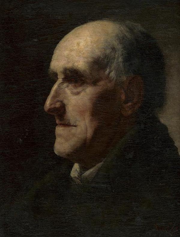 František Kozics – Portrét muža