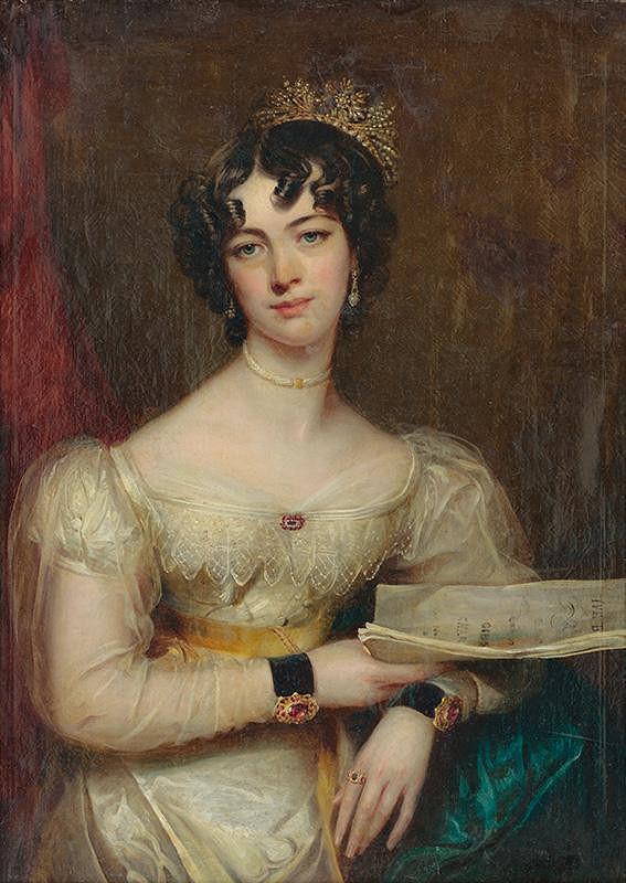Anglický maliar z 1. polovice 19. storočia, Thomas Lawrence – Portrét mladej šľachtičnej