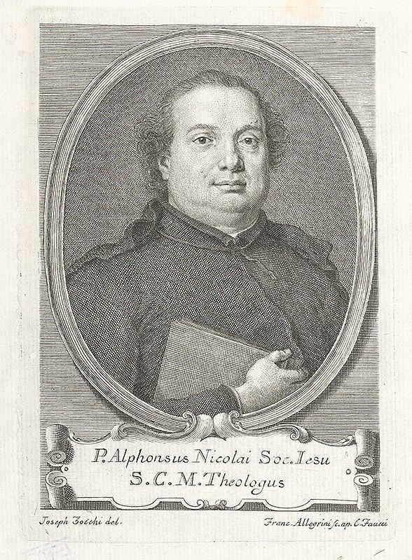 Francesco Allegrini, Giuseppe Zocchi - P.Alphonsus Nicolai