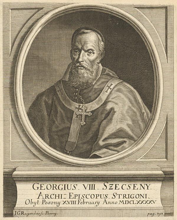 Jeremias Gottlob Rugendas – Portrét Juraja VIII.Szécsenyiho