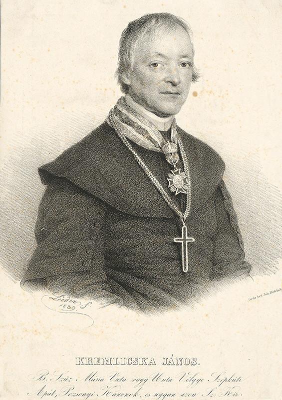 Friedrich Johann Gottlieb Lieder - Portrét Jána Kremlicsku