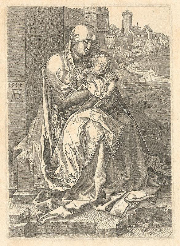 Albrecht Dürer - Mária pri stene
