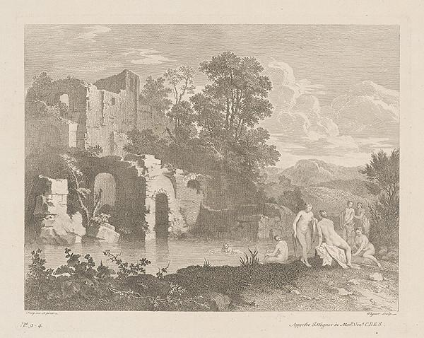 Joseph Wagner, Franz de Paula Ferg – Krajina so zrúcaninou