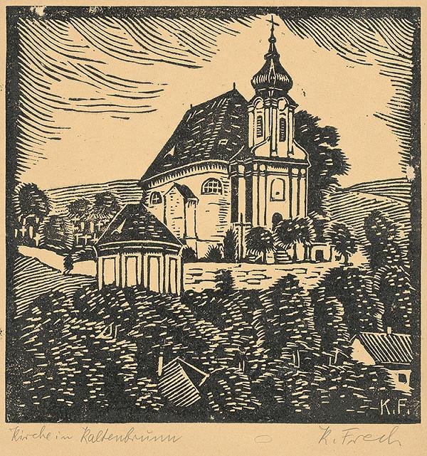 Karol Frech - Kostol v Kaltenbrune