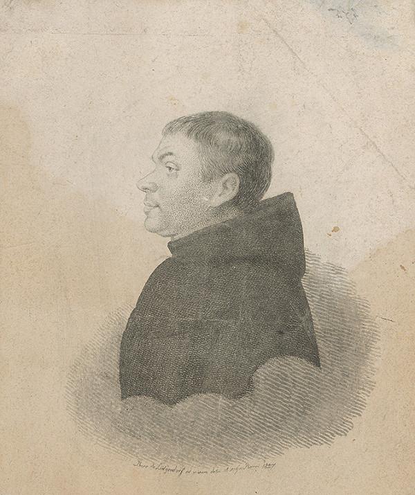 Ferdinand Karl Theodor Lütgendorff - Portrét františkána