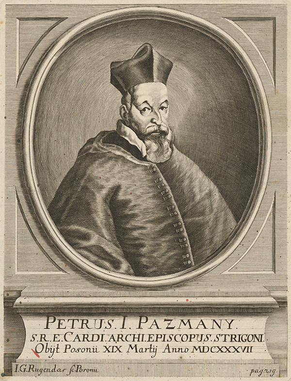 Jeremias Gottlob Rugendas – Portrét Petra Pázmanyho