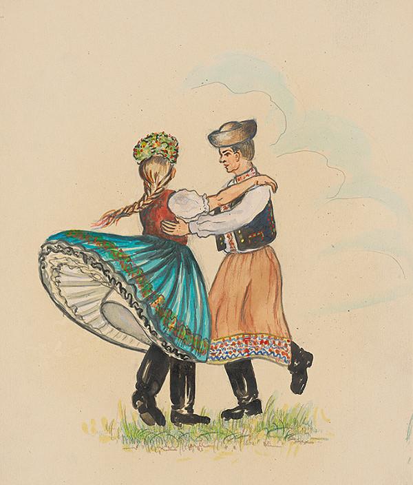 Slovenský maliar z 20. storočia – Štúdia krojov