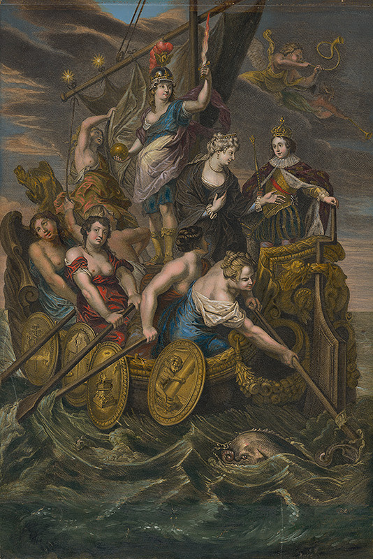 Antoine Trouvain, Peter Paul Rubens, Jean Baptiste Nattier – Plnoletosť Ľudovíta XIII.
