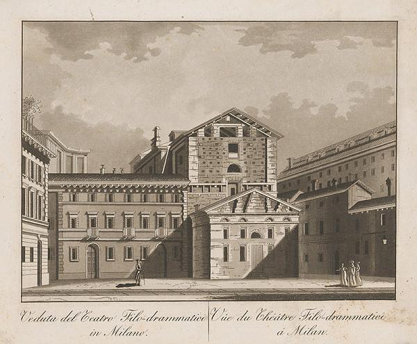 Taliansky maliar z prelomu 18. - 19. storočia – Divadlo Filo - Drammatici v Miláne