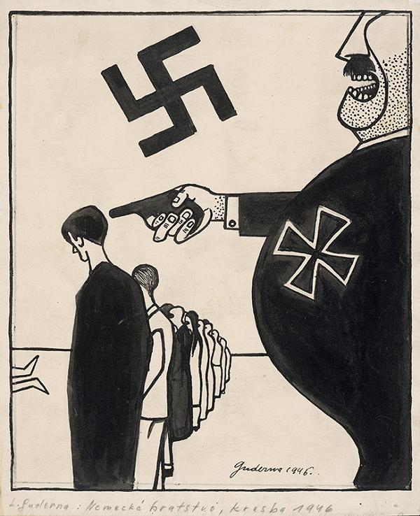 Ladislav Guderna – Satirická kresba 8.