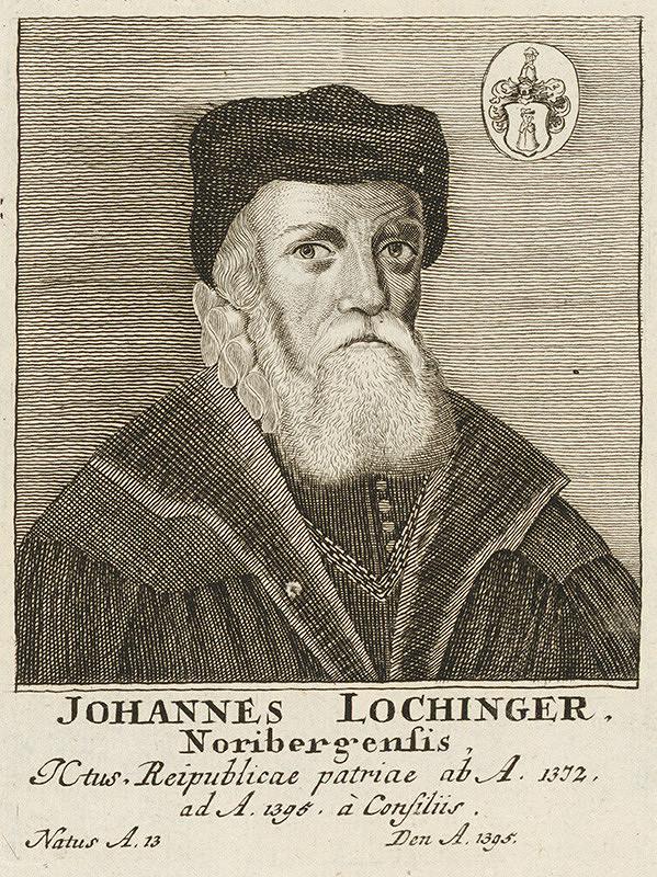 Stredoeurópsky maliar - Portrét Johannesa Lochingera